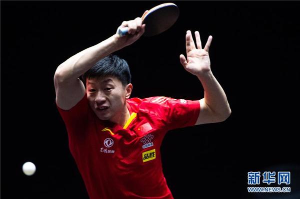 WTT澳门国际赛:马龙胜郑荣植