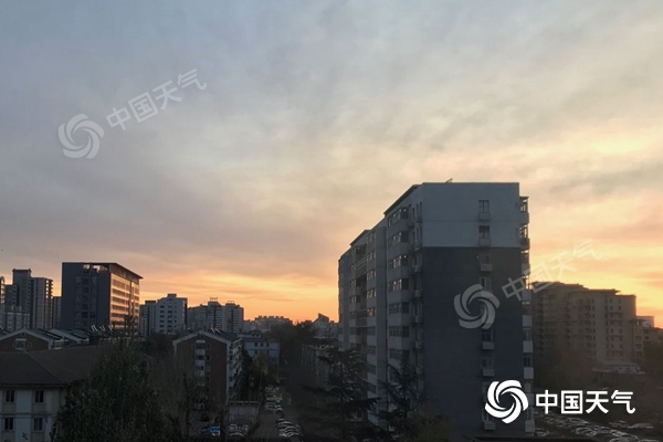 北京周末天气晴冷 今日最高温将降至5℃以下图片
