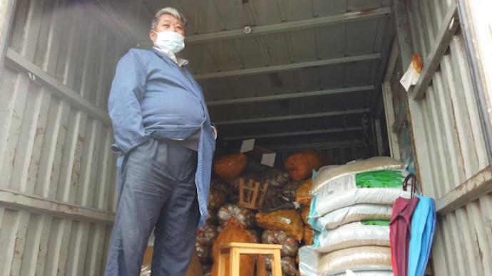 积压30吨!上海疫情封闭小区上演土豆消灭战