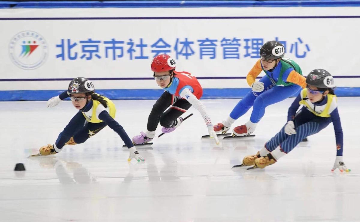 北京青少年短道速滑混合接力赛采用冬奥会规则
