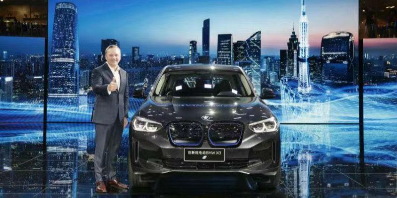 """宝马首款国产电动车iX3上市  BBA新能源汽车""""动真格""""在即"""