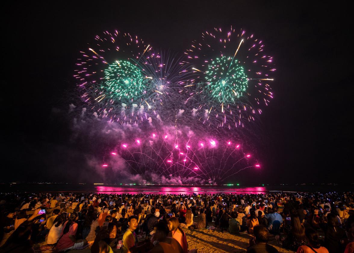 泰国举办芭堤雅烟花节促国内旅游