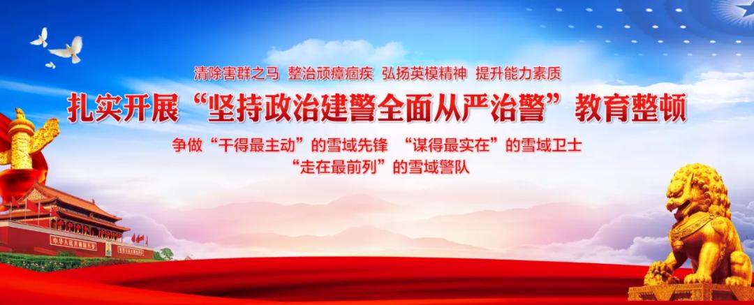 """教育整顿试点丨60余人献锦旗!警民友谊之花在""""生命禁区""""绽放"""