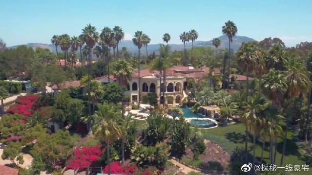 美国南加州的意大利风格豪宅!……
