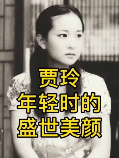 贾玲年轻时的美貌,岁月是把杀猪刀!……