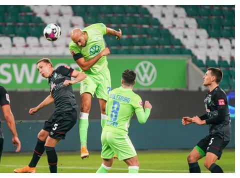 进球大战!沃尔夫斯堡5-3战胜不莱梅,9轮不败排名升至第5