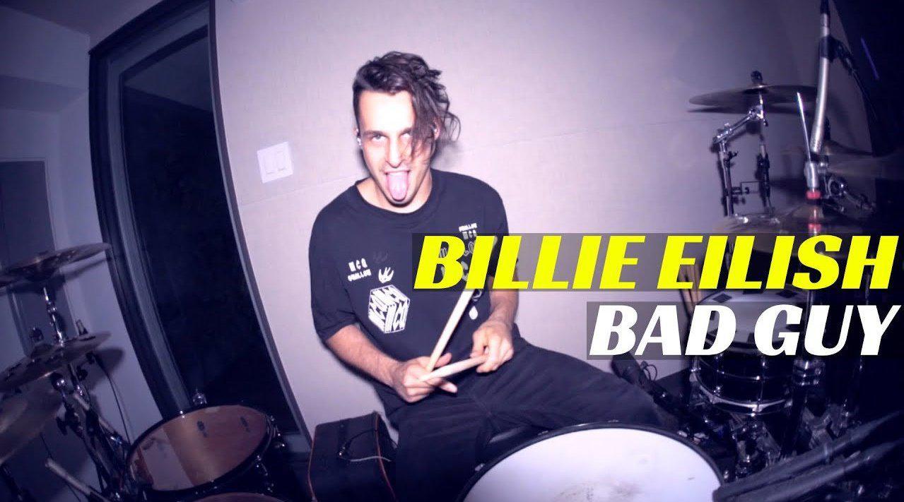 烟鬼电音组合御用鼓手Matt McGuire演奏碧莉Billie……