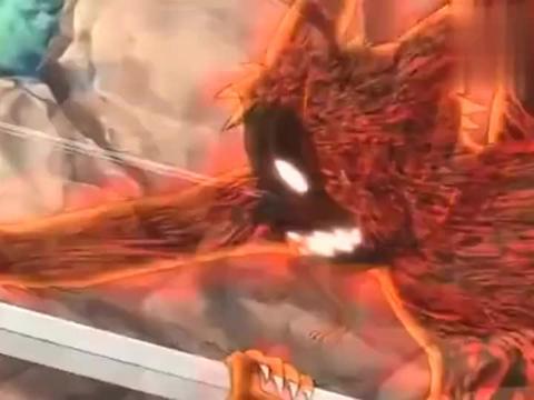 火影:大蛇丸四十米大长剑击飞鸣人,九尾模式的鸣人果然很强!