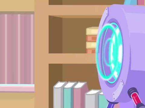 宝宝动画:汤姆变身小超人居然在图书馆里跳舞,太调皮了!