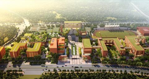 重庆两江新区:八中龙兴分校正在这样建设!
