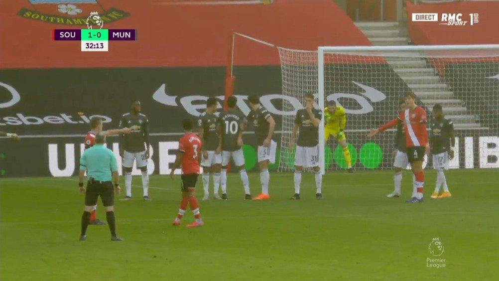 沃德-普劳斯任意球破门!南安2-0曼联!