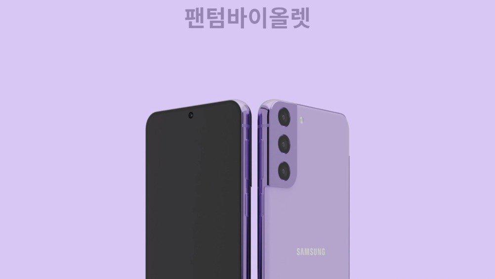韩国博主制作了三星Galaxy S21手机的渲染视频…………