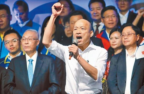 亲绿民调机构董事长:台湾民怨升高 韩国瑜或可再起选2024