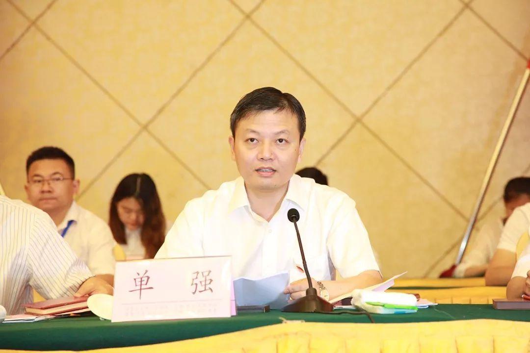共青团安徽省委副书记单强 已任淮北市委常委、组织部部长图片