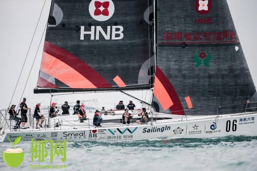 环海南岛国际大帆船赛首日 磨合队伍备战远航