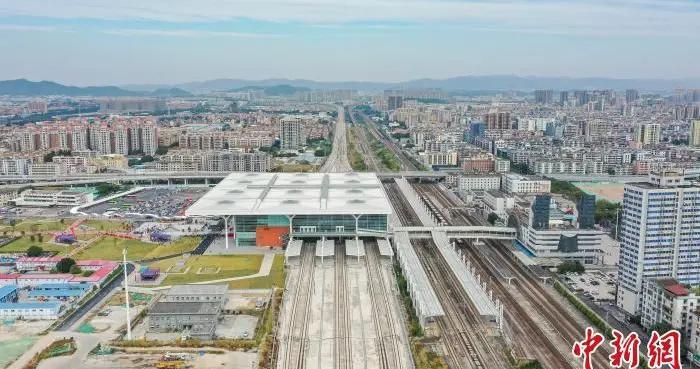 探访开通在即的广州东环城际:城际地铁无缝换乘