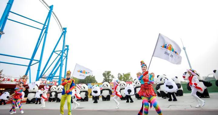 """""""惠游湖北""""启动至今 武汉欢乐谷已接待外地游客近80万人"""