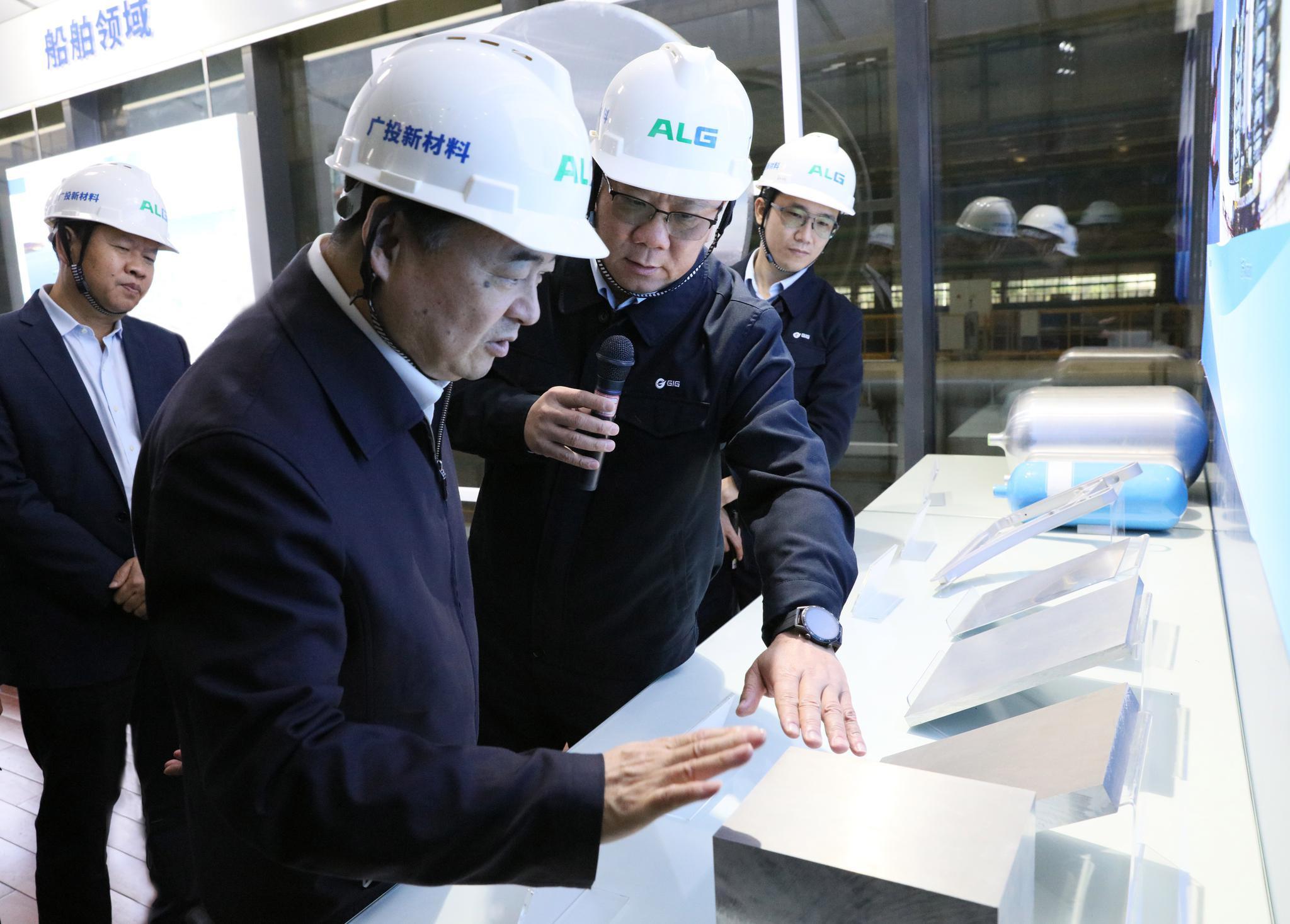 国务院国资委主任赴广西调研:积极稳妥推进混合所有制改革