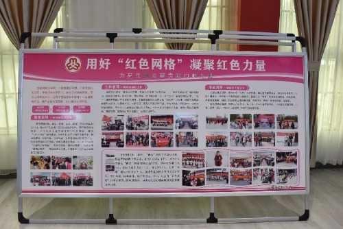 漯河市政府妇儿工委成员单位一行到郾城区龙塔街道金牛社区进行参观