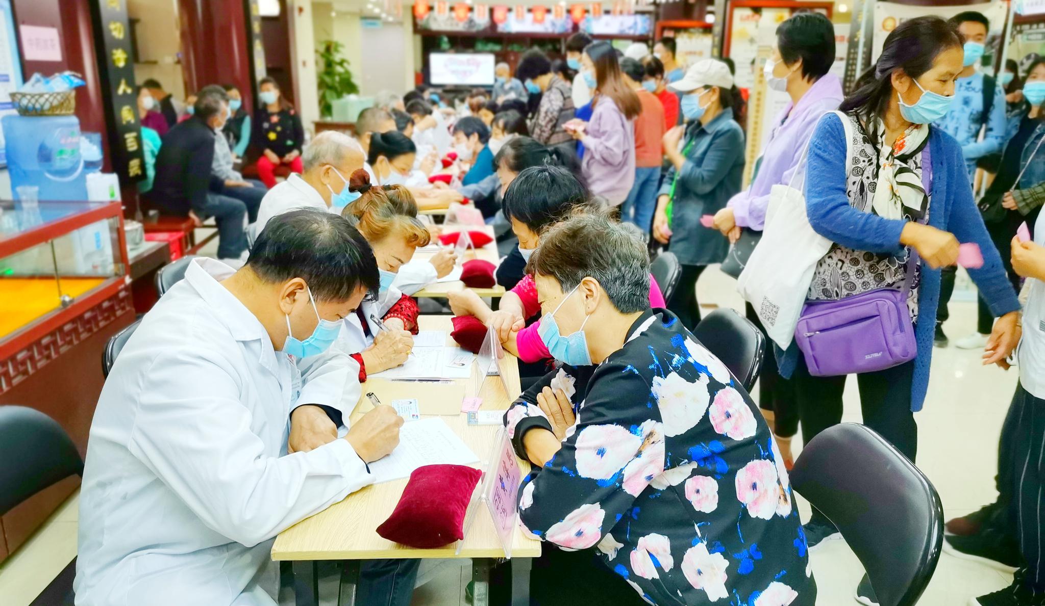 厦门举办冬季养生科普文化义诊活动 30余位中医专家坐镇