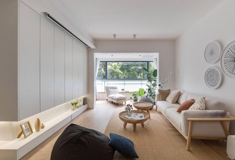 95平米的北欧风格,原来三居室还可以这样装修!