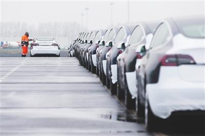 中国造特斯拉汽车首次出口欧洲