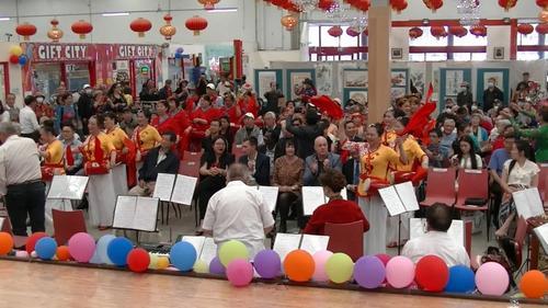 中华文化艺术节在新西兰奥克兰东区中国城举办