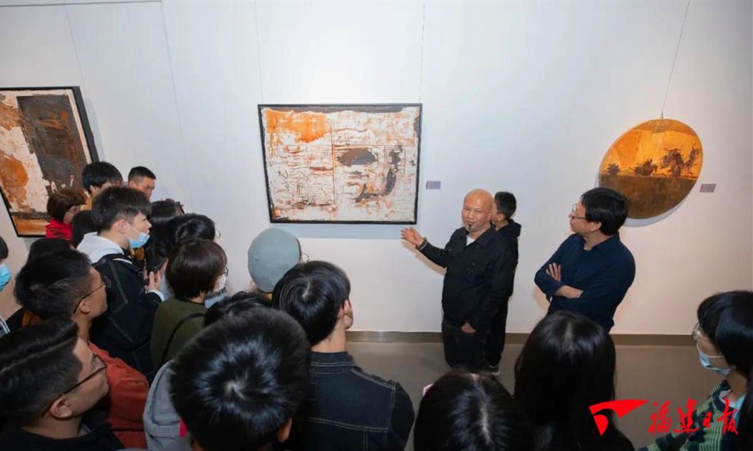 """""""格物致知""""全国中青年艺术家绘画作品邀请展在福清开幕"""