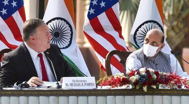印度罕见逼美国改口 事儿里有中国!图片