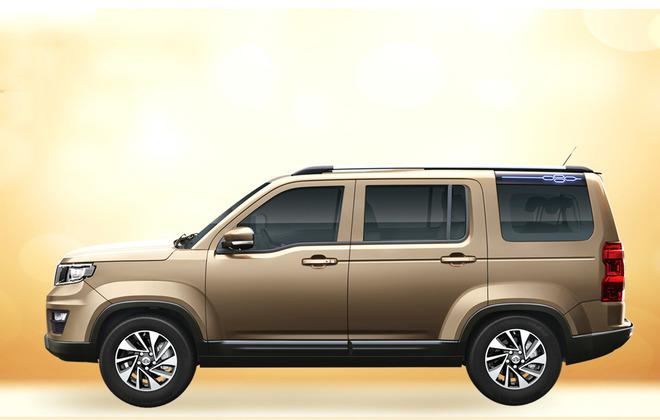 新款长安欧尚X70A上市 6款车型/售价5.19万元起