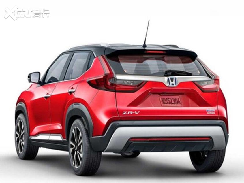 全新本田ZR-V渲染图曝光 定位于小型SUV