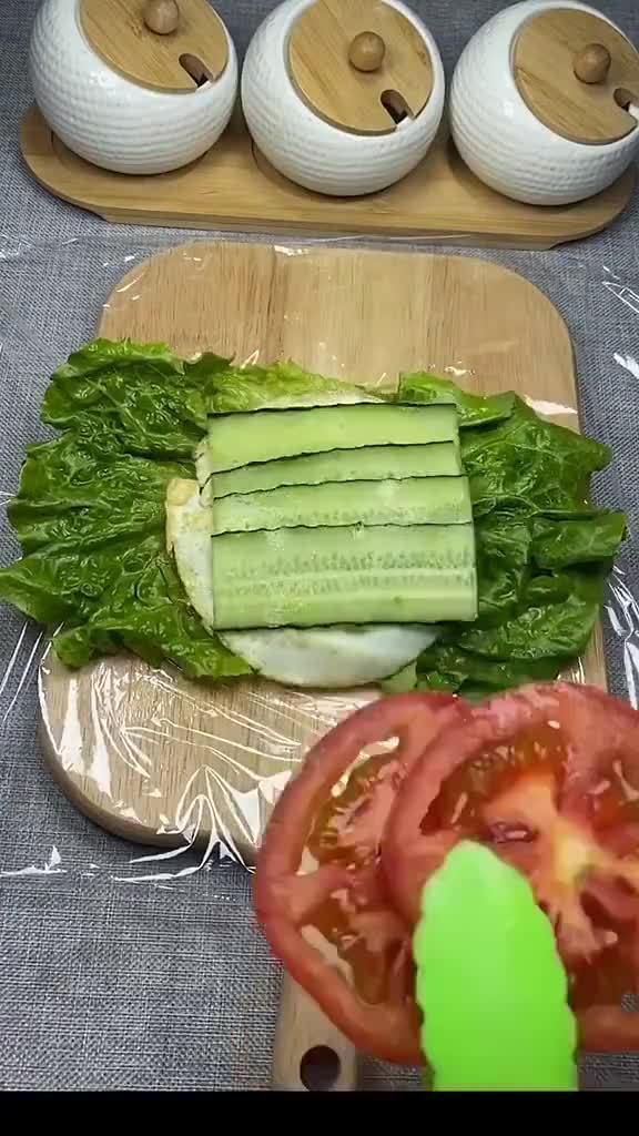 早餐蔬菜三明治,好吃又营养哦
