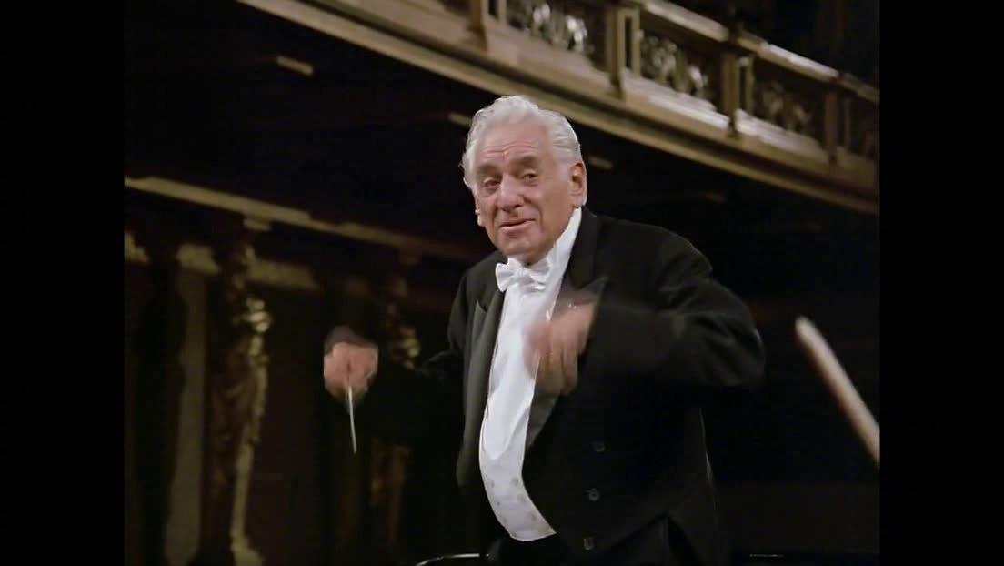 伯恩斯坦指挥维也纳爱乐演奏:贝多芬《F大调第16弦乐四重奏》