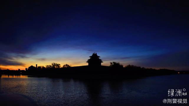 紫禁城的早晨 美好一天从紫禁城的早霞开始……