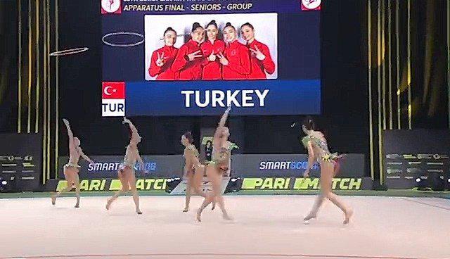 土耳其艺术体操队赢得欧洲冠军