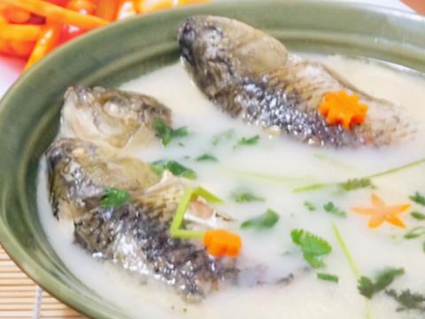 无论用什么鱼炖汤,不要直接炖,掌握4窍门,香浓奶白,鲜美不腥