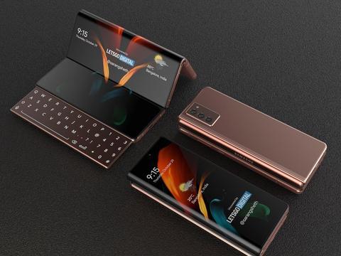 三星新专利曝光:三折屏幕与滑动键盘,还有「卷轴屏」