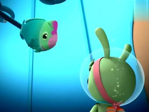 海底小纵队:一听陨石要来,海蒂一下子兴奋起来,想要好好尝尝