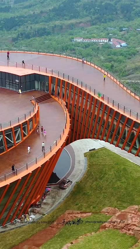 成都之眼,龙泉山丹景台,这视野相当不错啊!