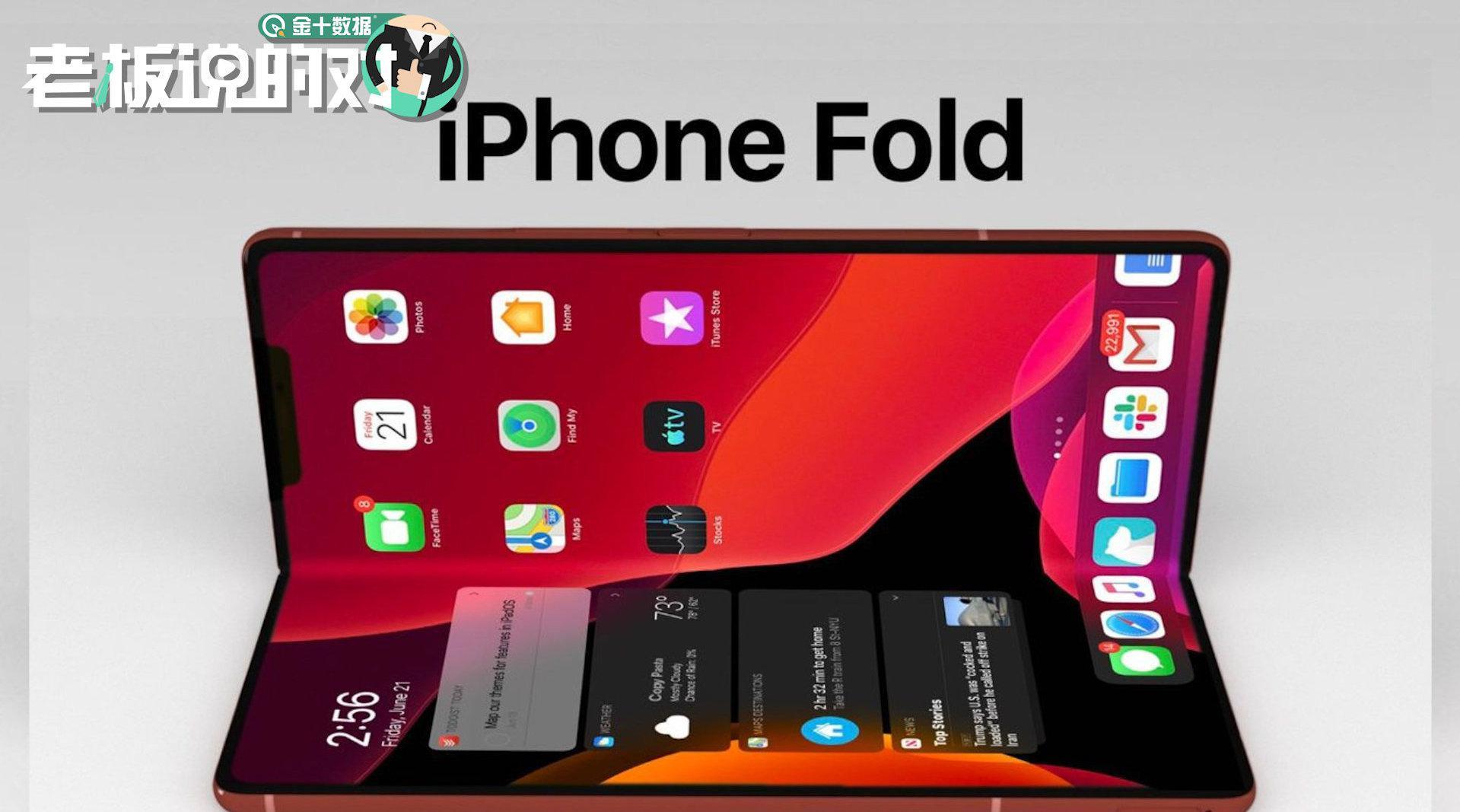 1万元起步,折叠屏iPhone要来了?样品已送富士康测试,2022年见