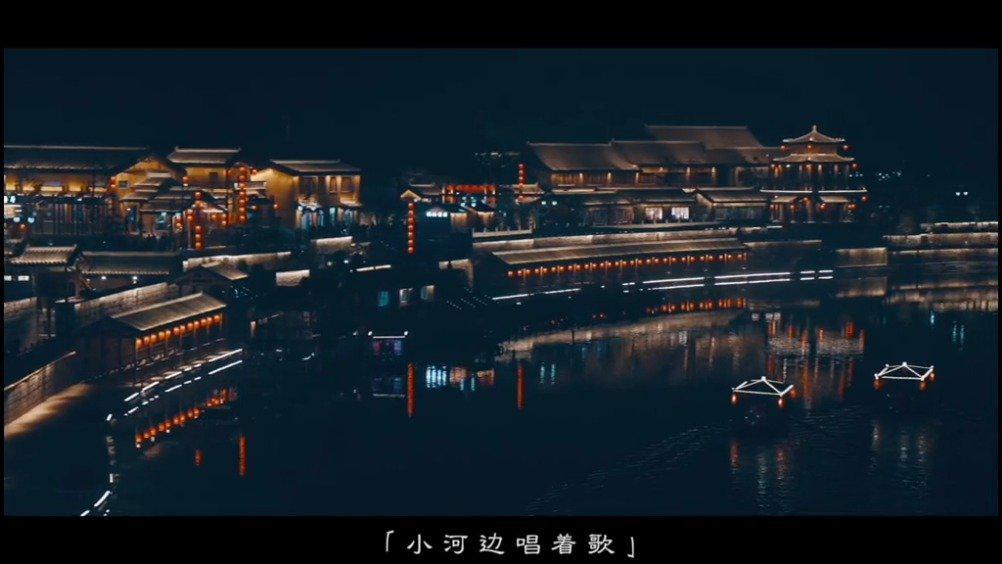 磁县开河码头,江南水韵的感觉都在这里,夜景太美!