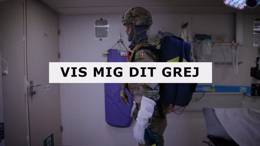 《背包里是什么?》来看看丹麦护卫舰上的军医都带了哪些装备!