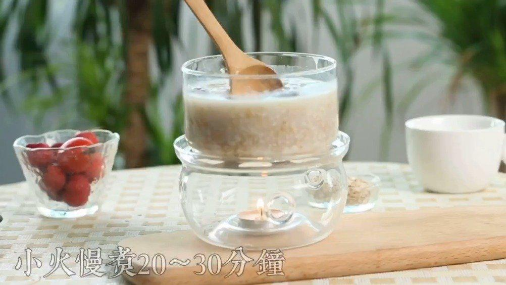 高原野生燕麦片百合粥包:原滋原味……