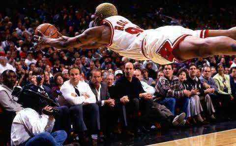 罗德曼篮板强于巴克利?巴克利:如果我不需要得分,一定不比他差