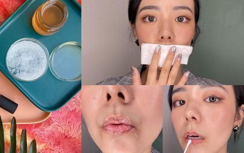 唇部干到爆?2招教你「蜜糖唇部保养法」,和干唇拜拜!