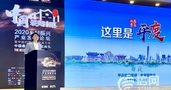 """平度云山镇获评""""中国最美村镇""""网民投票榜全国前三"""