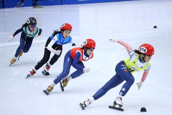北京市青少年短道速滑混合接力赛成功举办