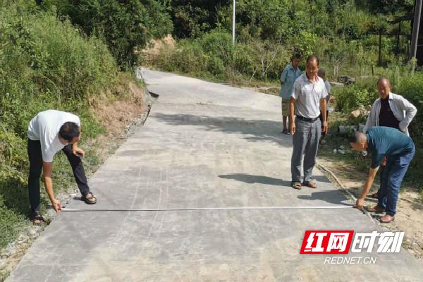 绥宁县唐家坊:用制度优势为工程项目护航