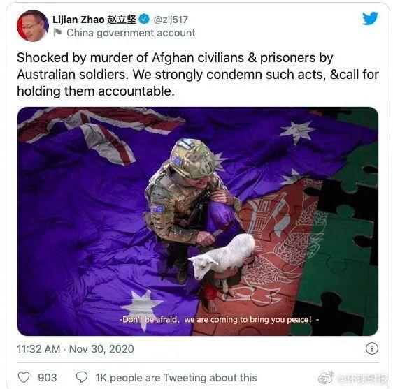 我们联系他的时候,他说想对澳总理说句话图片