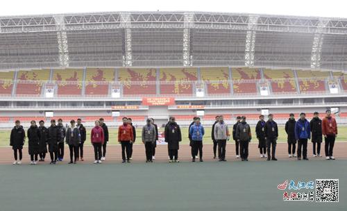 江西省第二届田径冠军赛在吉安市全民健身中心火热开赛(图)